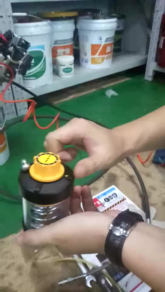 pulsarlube KLT1500弹簧自动注脂器加油脂方法一