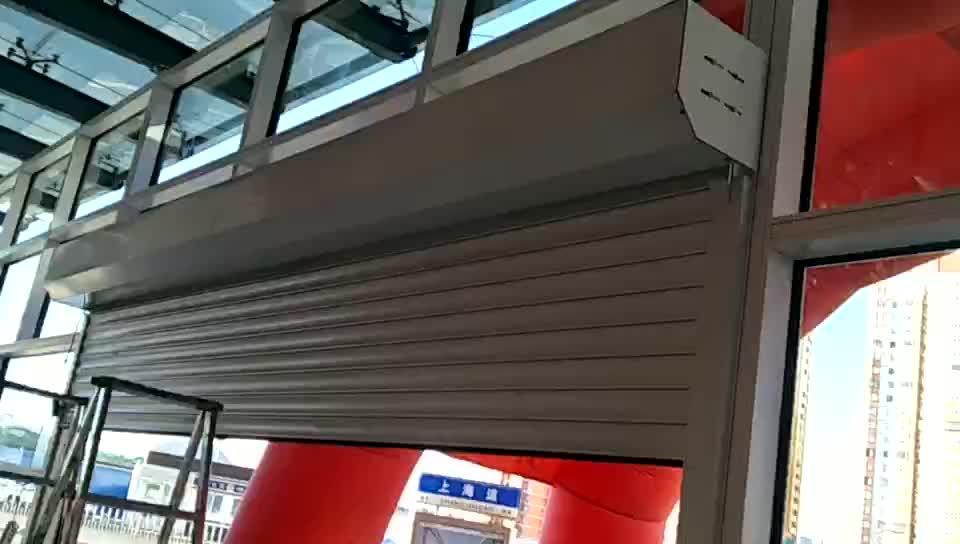天津安装电动卷帘门,塘沽区专业定制手动卷帘门