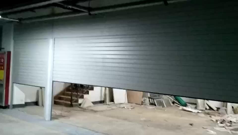 天津定制车库门,河西区专业安装地下车库卷帘门