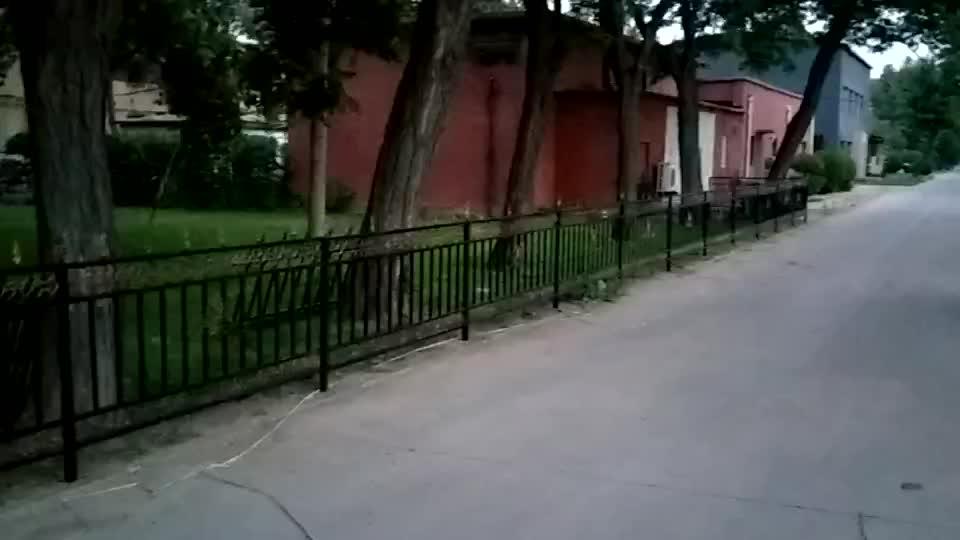 天津现场安装铁艺楼梯,铁艺围栏