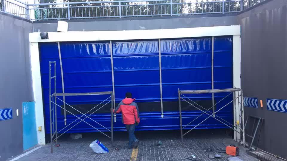 天津武清区安装堆积快速门