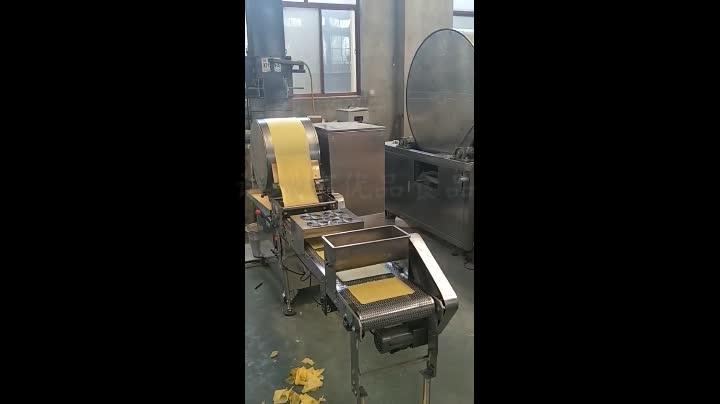 优品全自动长方形蛋皮机春卷皮机生产高效技术先进