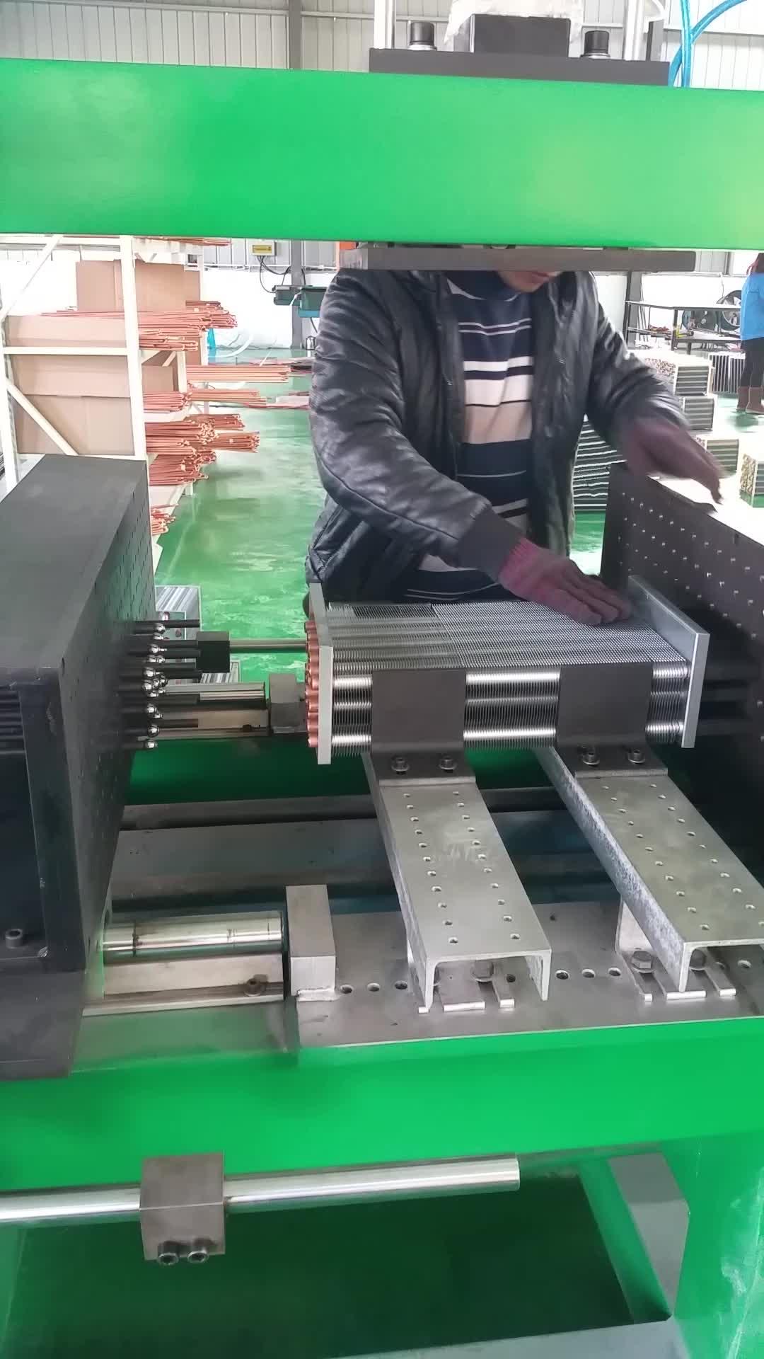 胀管机  卧式胀管机  冷凝器散热器胀管机 表冷器胀管机