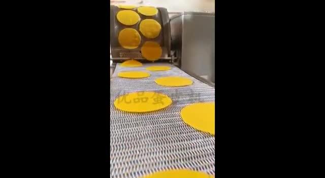 全自动蛋皮机 蛋卷机  山东优品机械